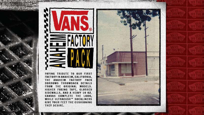 De ce fabrica Vans Anaheim?