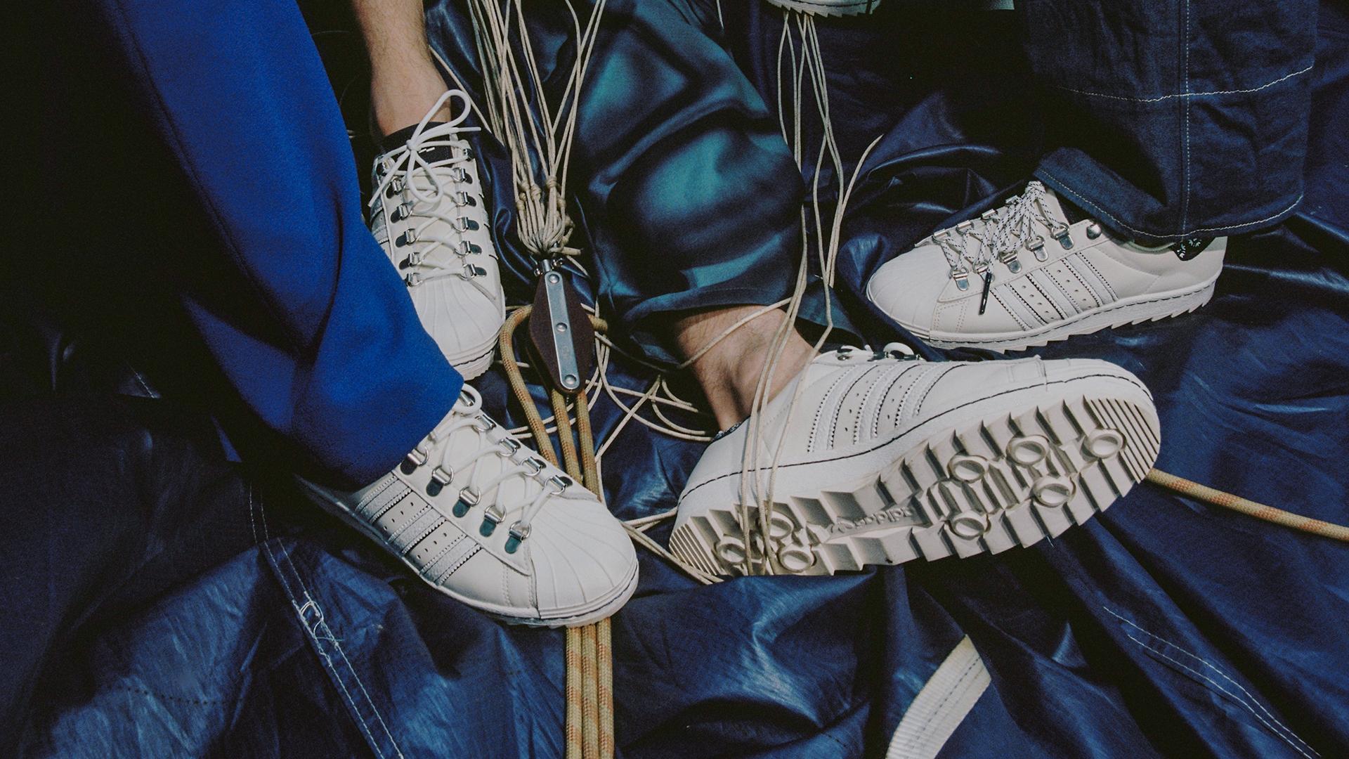 Editorial: adidas x Footshop Superstar 'Blueprinting' by Lousy Auber