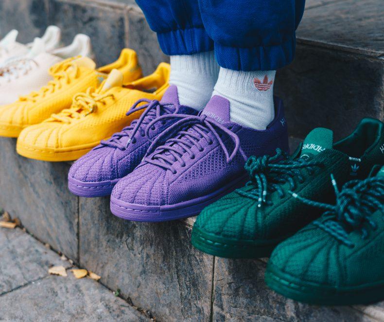 Paleta de culori a colaborării adidas Originals x Pharrell Williams